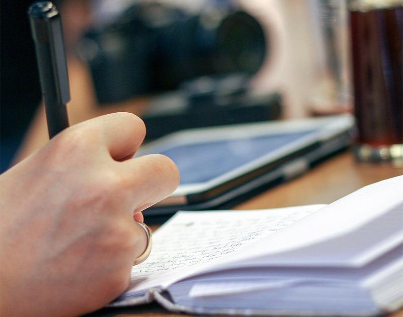 Stift Hand Korrektur